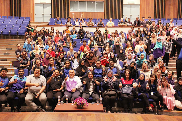 Successful Corporate Leaders Talk 2017 || UNIMAS