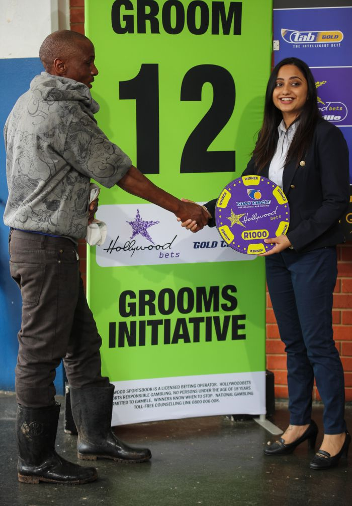 Grooms' Initiative Winners - 19th January 2020 - Hollywoodbets Greyville - Race 5 - Themba Madiba - SKOLLIE