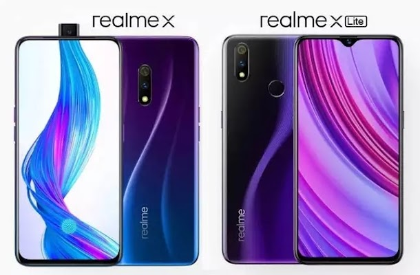 Realme X dan Realme X Lite Resmi Dirilis, Inilah Spesifikasi dan Harganya