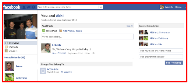 How to share friendship on facebook