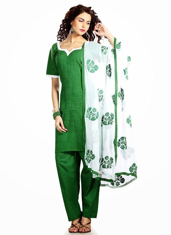 Simple & Beautiful Salwar Kameez Suits | Simple Salwar ...