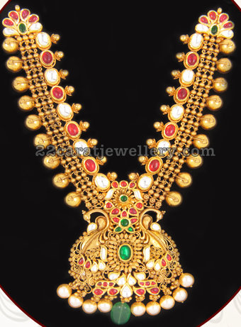 Antique Necklace by Davanam Jewellers