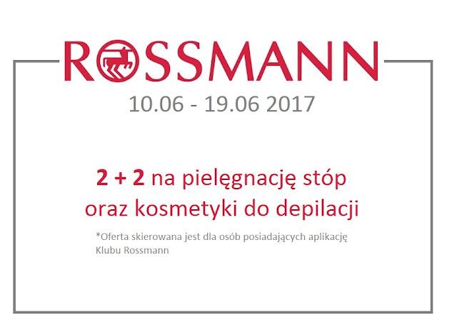 promocja w Rossmannie na kosmetyki do depilacji i pielęgnacji stóp