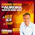 Fernando Santana estará em Aurora nesta sexta-feira para fazer visitas domiciliares no bairro Araçá.