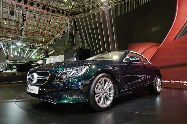Mercedes S500 Cabriolet có thiết kế tổng thể vô cùng sang trọng, đẳng cấp