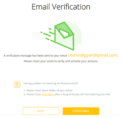 Click-on-check-email