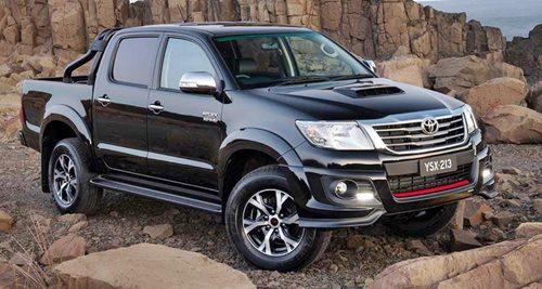 Toyota Hilux 4x4 Double Cab 2016 Black Ranger