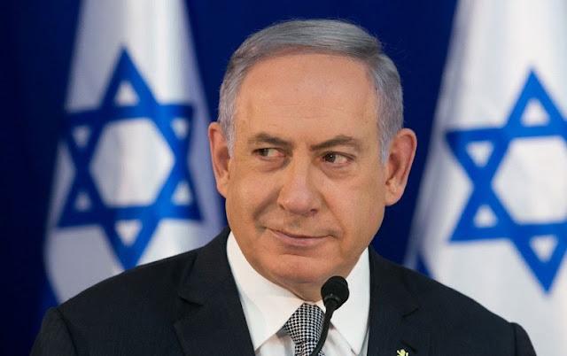 Israeli Prime Minister Benjamin Netanyahu in a historic visit to Tirana