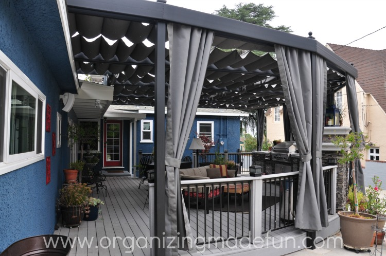 Best Our new amazing patio cover   Organizing Made Fun: Our new  WS12