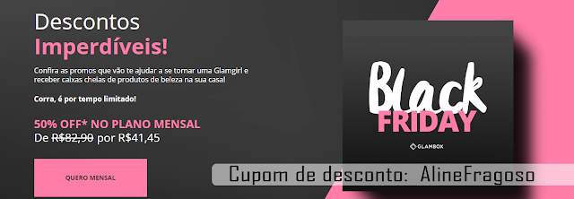 Glambox descontos blackfiday