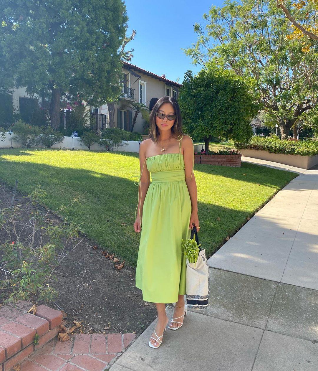 Fashion Girl's Love Celery Green