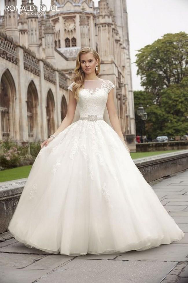 Imagenes de vestidos de novia corte princesa