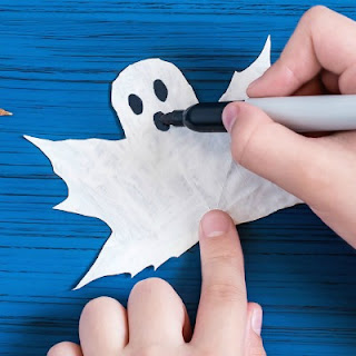 GHOST CRAFT FOR KIDS