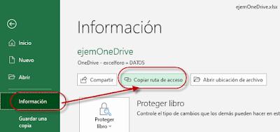 Conectar Power Query con OneDrive