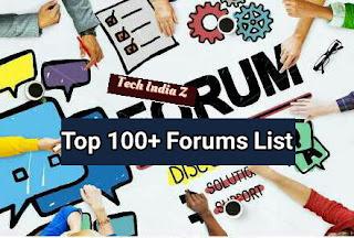 List of high pr dofollow forums list for 2017