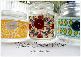 Fabric Candle Votives