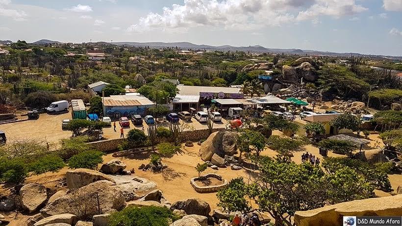 Vista do alto do Casibari Rock - Guia completo: o que fazer em Aruba