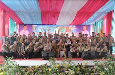 Ribuan Relawan Sosial Peroleh Tali Asih dari Gubernur Ridho