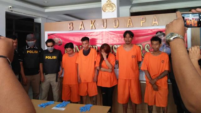 Satnarkoba Bitung Amankan 100gram Narkotika Yang Dikendalikan Dari Lapas Tuminting Manado