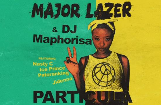 Music]: Major Lazer – Particula ft  Patoranking, Jidenna, Ice Prince
