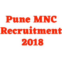 Pune MNC Recruitment 2018