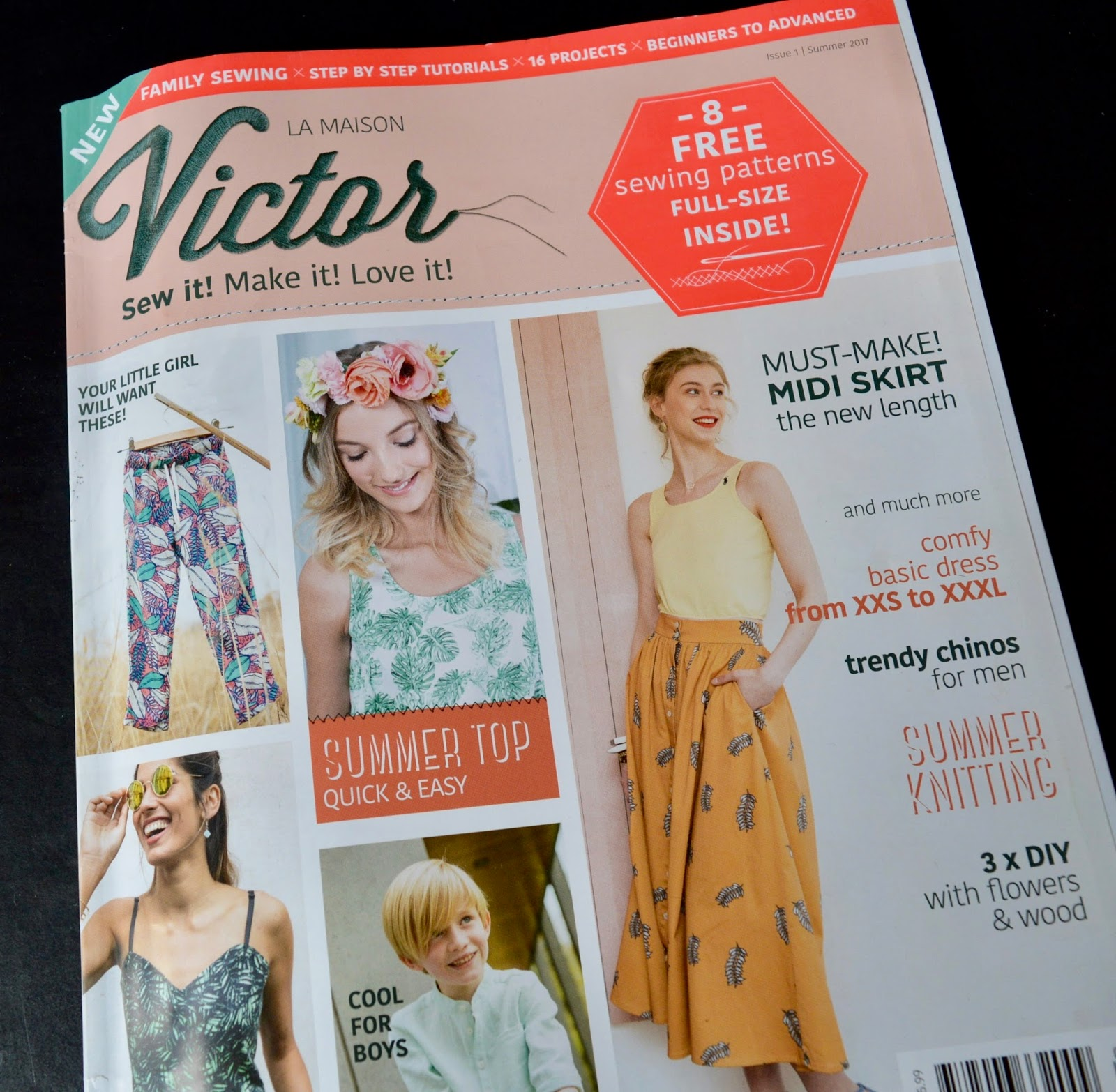 Handmade jane la maison victor malia top bloggers in the launch countries uk us canada and australia have each been asked to make up a pattern from the magazine and blog about it jeuxipadfo Image collections