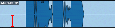Pro Tools Track Before It Is Selected