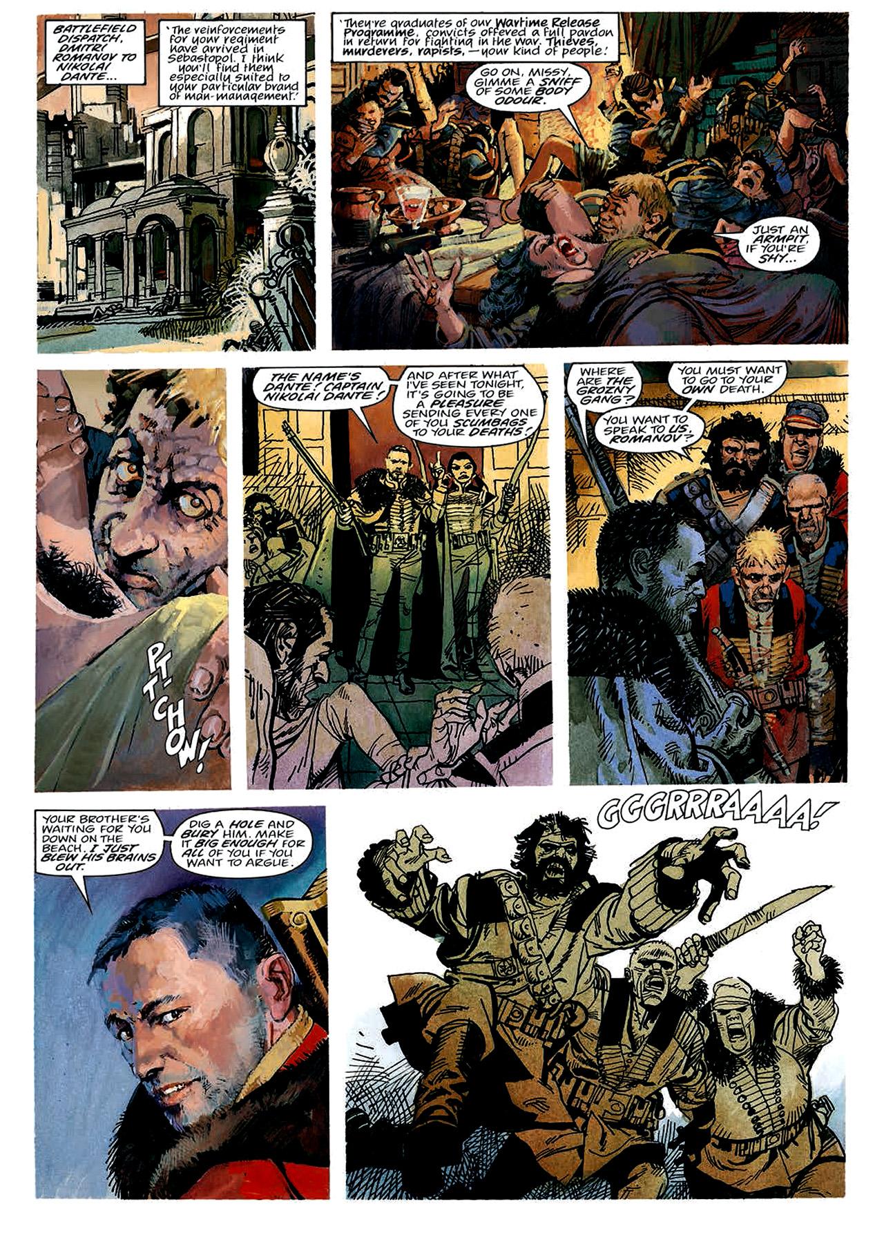 Read online Nikolai Dante comic -  Issue # TPB 4 - 20