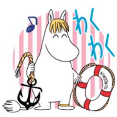 Moomin: Animated Summer Stickers
