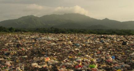 Gambar Sampah dan pencemaran lingkungan