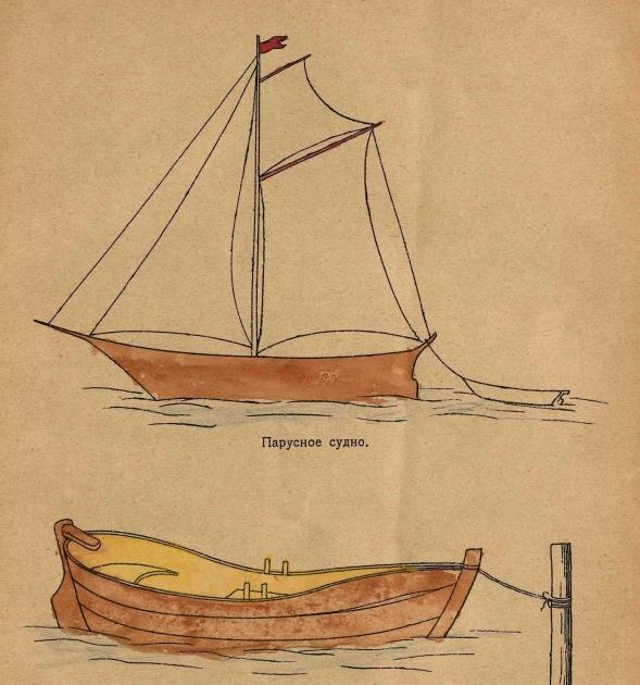 как научиться рисовать лодку