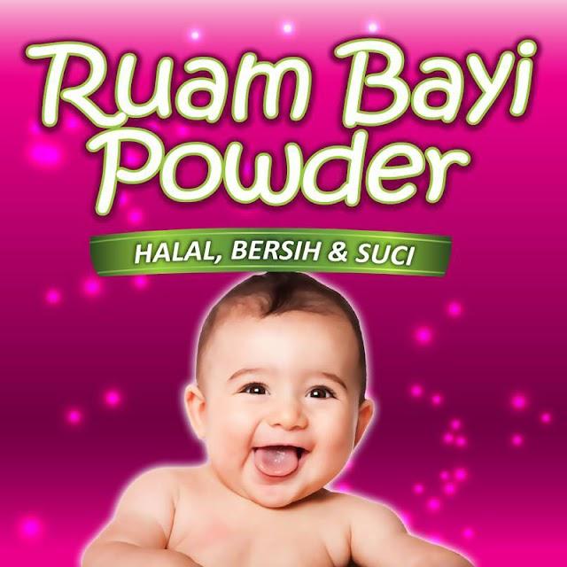 Bedak Ruam Bayi | Ruam Bayi Powder Penawar Penyakit Kulit