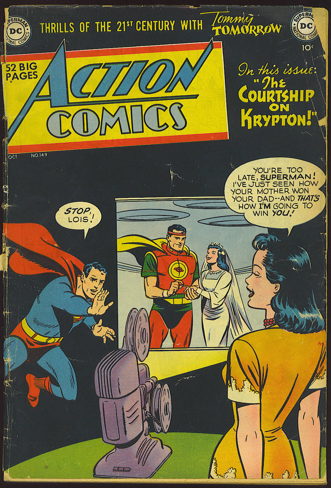 Action Comics (1938) 149 Page 1