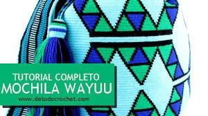 Teje tu propia Mochila Wayuu / Tutorial Paso a paso