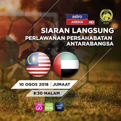 Live Streaming Malaysia u23 vs UAE u23 (10.8.2018)