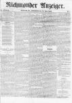 Richmonder Anzeiger. 9. Jg, Nr. 2, Sa., den 14. Juni 1862