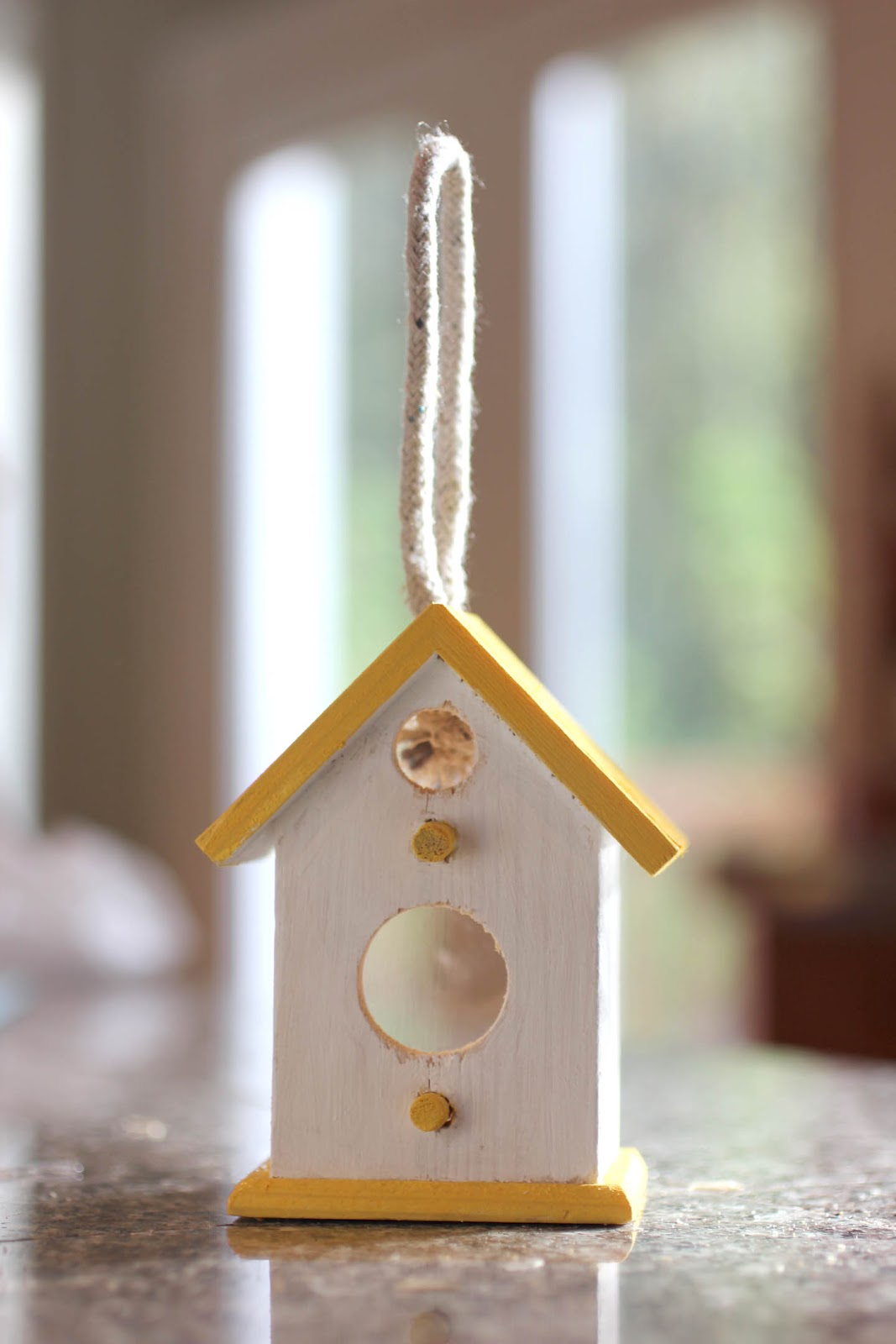 Window bird house - We Have 3 Lovely Big Windows That Our Couch Sits In Front Of This Was Obviously The Perfect Spot So We Could Keep An