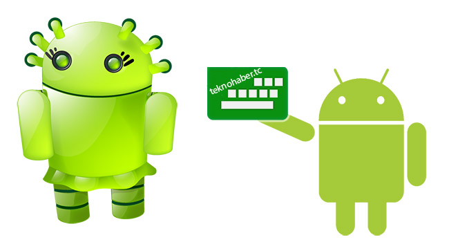 Android Cihazda Tek Elle Klavye Kullanımı