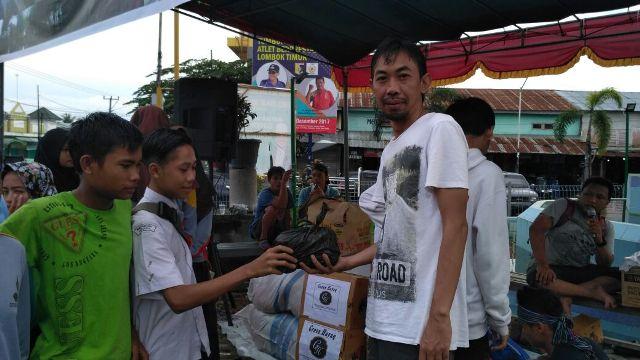 Lambur Community Peduli Banjir Lombok Timur