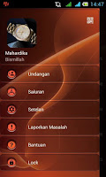 BBM MOD Dark Orange 2.12.0.9.APK