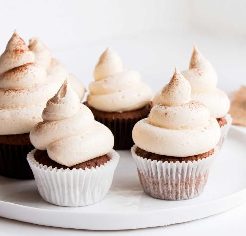 VANILLA CHAI CUPCAKES #cupcakes #vanilla