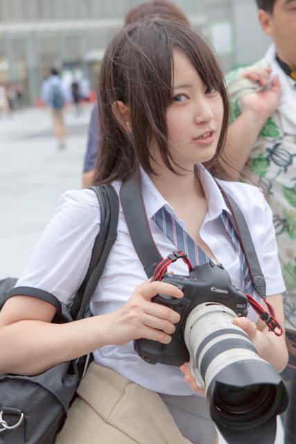 御伽ねこむ Nekomu Otogi School Girl Images 02