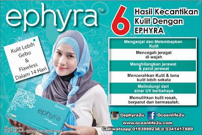 Ephyra Serlahkan Kejelitaan Sebenar Anda