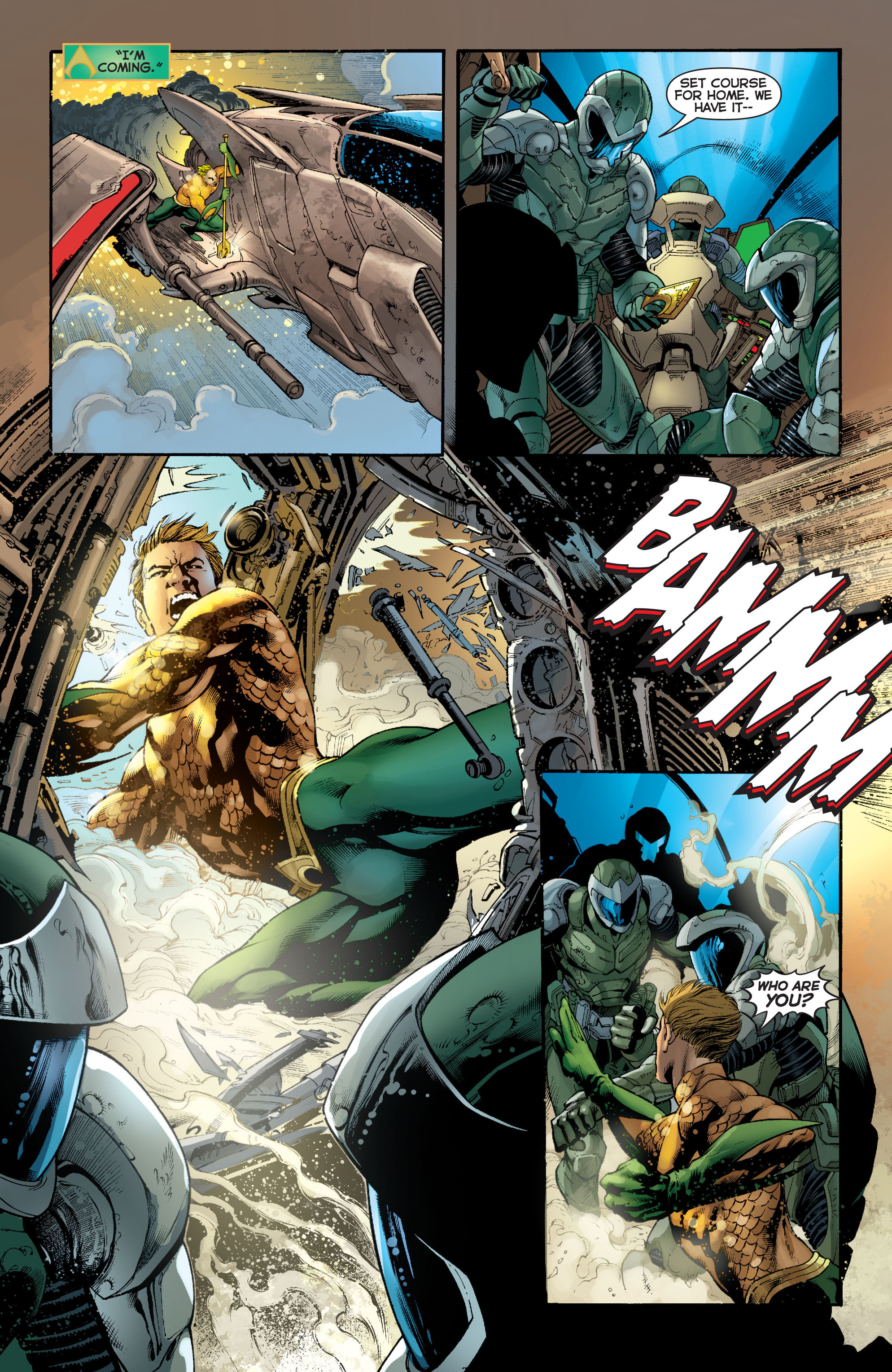Read online Aquaman (2011) comic -  Issue #5 - 16