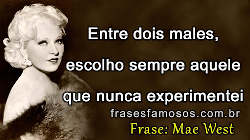 frases mae west