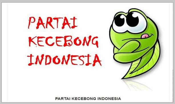 PARTAI KECEBONG INDONESIA (PKI) by AhmadDhani