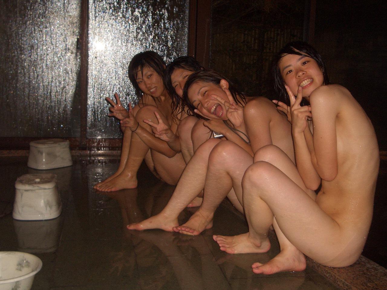 Lovely Japanese Schoolgirls Excursion Naked Photos Leaked -8617