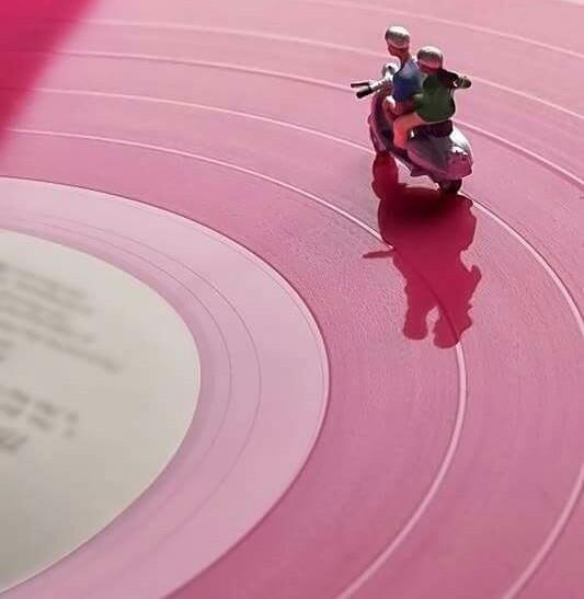 Vinyl Vespa