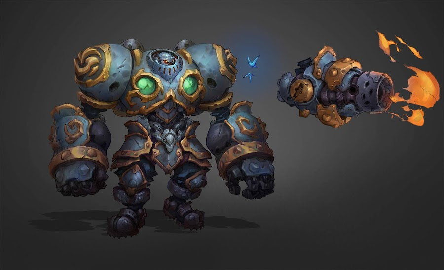 battle chasers nightwar calibretto concept art