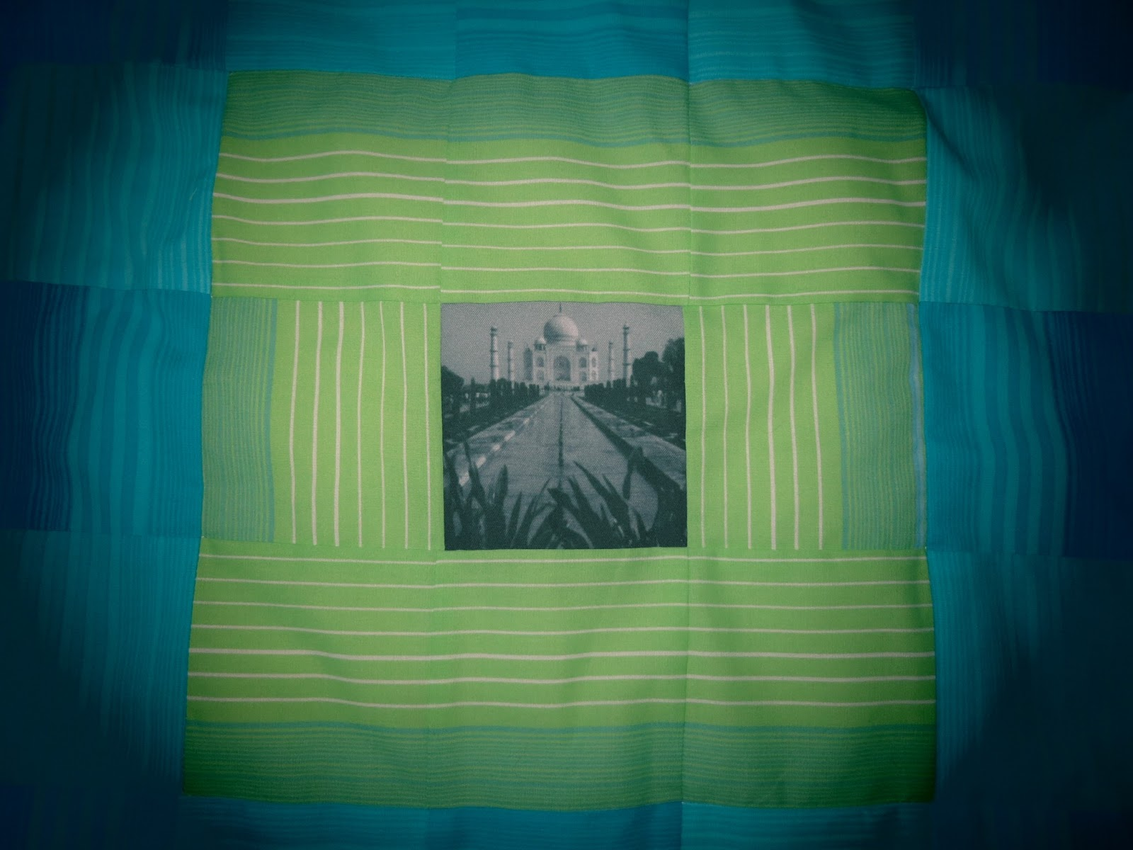 The Confident Journal Baby Travel Quilt